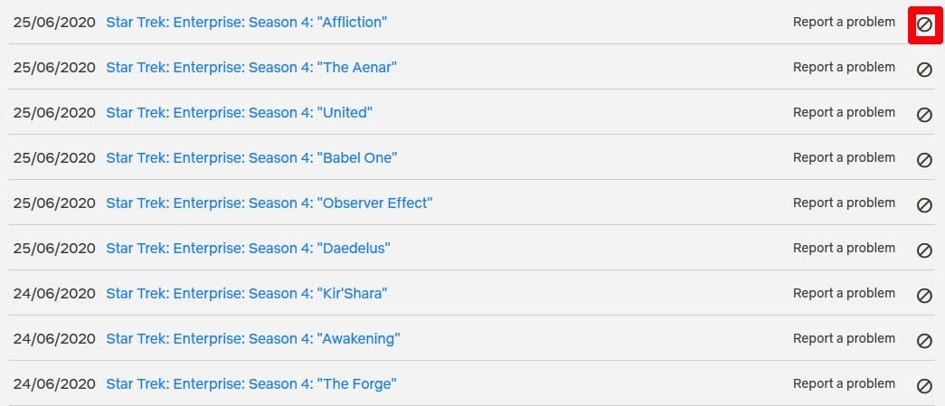 Netflix Viewing Activity