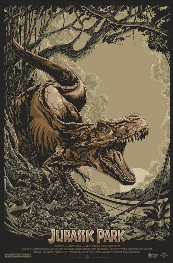 Poster - Jurassic Park