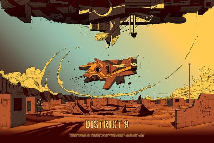 District 9 - Poster - Illustration